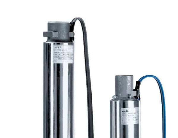 Bombas eléctricas para extracción de agua KSB